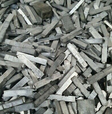 Mixed Metal Type / Lead Letterpress Printing Letters  1kg To 8kg Boxes Available • 24£