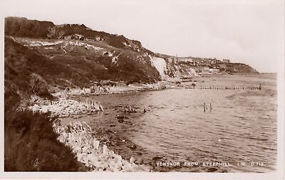 (ao44) Ventnor From Steephill - Isle Of Wight Postcard • 2.50£