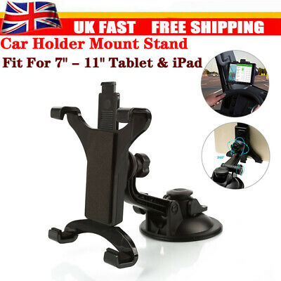 In Car Suction Phone Holder Dashboard Windscreen Universal Mount Tablet 7 To 11  • 9.28£