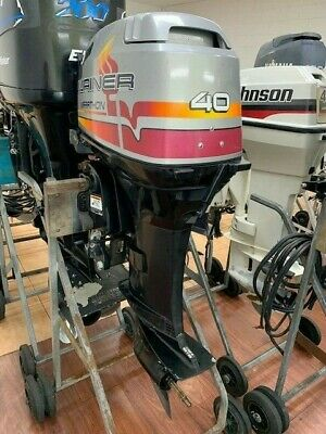 AU3950 • Buy 40hp Mariner Outboard Motor Tiller Steer S3428