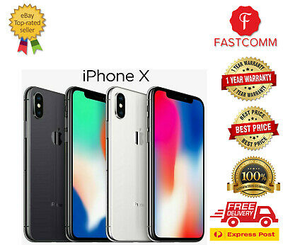 AU505 • Buy AS NEW Apple IPhone X 10 [64GB/256GB] Unlocked Smartphone Au Seller Express
