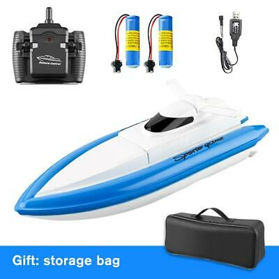 AU40.99 • Buy 800 Remote Control Boats 2.4G 20km/h RC Boat RC Toy Gift 2 Battery