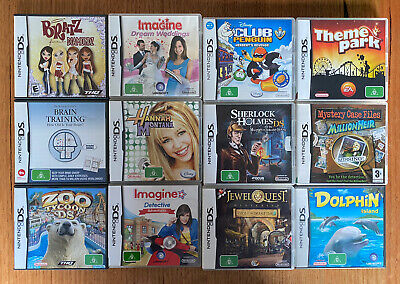 AU45 • Buy Nintendo DS Bundle (12 Games) With Manuals