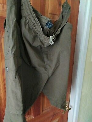 Airwalk Cotton Cargo Shorts Size Extra Large In  Khaki • 3.50£