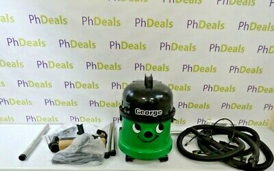 NUMATIC George Hoover GVE370 3-in-1 Cylinder Wet & Dry Vacuum Cleaner - Green  • 130£