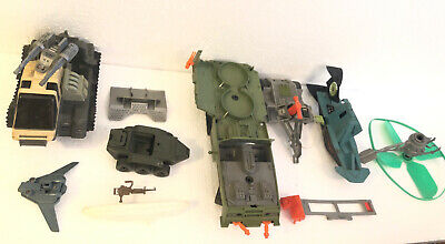 $ CDN63.11 • Buy Vintage Gi Joe 1980's Tank Vehicles Trailers Planes Flier