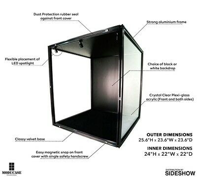 ModuCase Display Case For Hot Toys Sideshow Moducase DF60 BNIB • 250£