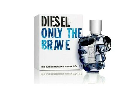 £40.27 • Buy Diesel Only The Brave 75ml EDT Spray For Him.NEW SEALED BOXED FREE P&P