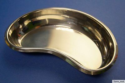 Kidney Dish, Instrument Tray Approx. 15,5 CM Stainless Steel • 13.28£