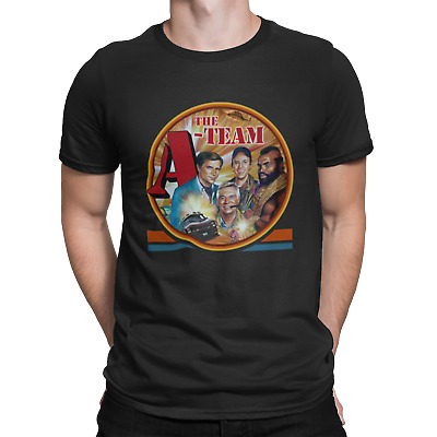 A Team T-shirt Mens Movie Film Thriller Action Chinese Japanese Horror Funny 80s • 6.75£