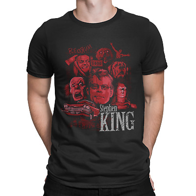 Stephen King T Shirt It Film Movie Christine Horror Sci FiComedy Pennywise 2 • 6.75£