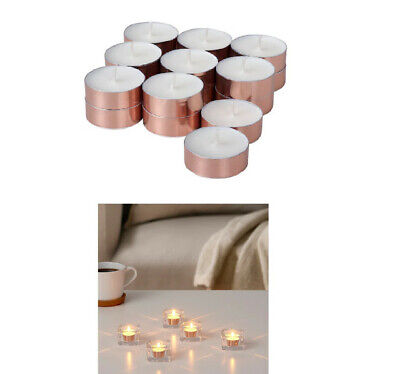IKEA BEKIKA Scented Tealights Candles Wedding Décor Raspberry 18 Pack - UK • 5.99£