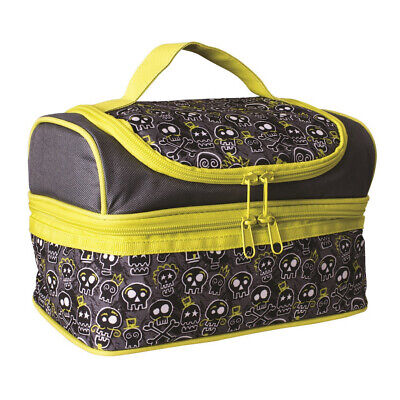 $ CDN29.46 • Buy 100% Genuine! AVANTI Yum Yum Double Decker Lunch Bag Skull!