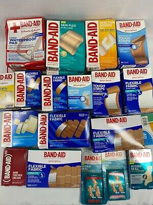 £2.75 • Buy Band-Aid Adhesive Bandages YOU CHOOSE Buy More & Save + Combined Shipping