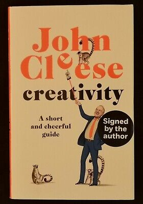 John Cleese  Creativity  Signed Autobiography, 1st Edition, Brand New Book • 24.99£