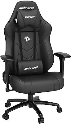 RRP £350 Ergonomic Gaming Chair Swivel PVC Leather Computer Office Chair Seat • 25£