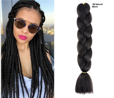 Xpression(expression) Pre Stretched 1b &bg Ultra Hair For Braiding, Extension   • 7.50£