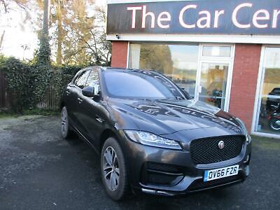 Jaguar F-Pace R-SPORT AWD 5-Door DIESEL MANUAL 2016/66 • 26,990£