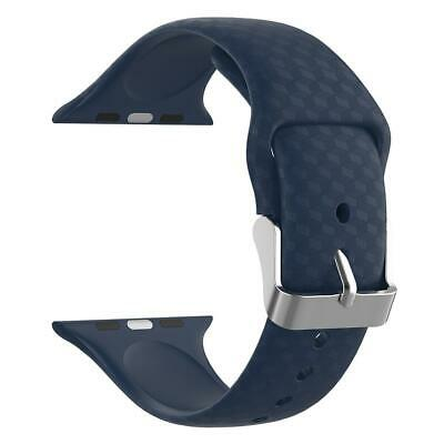 $ CDN9.79 • Buy Soft Silicone Sports Strap Band For Apple Watch Series 1 2 3 4 42mm (Blue) ✾