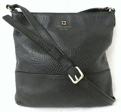 $ CDN21.60 • Buy Kate Spade Black Pebble Leather Crossbody Bag Purse