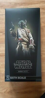 Boba Fett Mythos Sixth Scale Sideshow Figure 1/6 New Star Wars Mandalorian • 205£