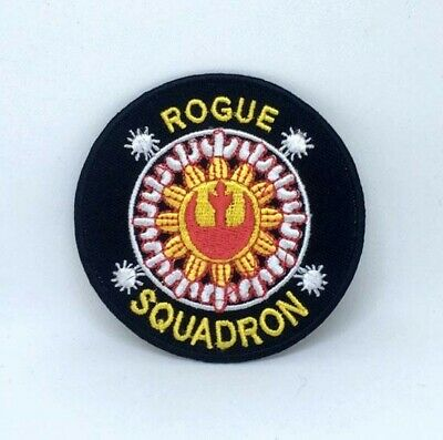 £1.89 • Buy Star Wars Rogue Squadron Iron On Sew On Embroidered Patch