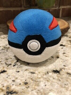 Pokemon Poke Ball Great Ball Plush 6 Inch • 6.87£