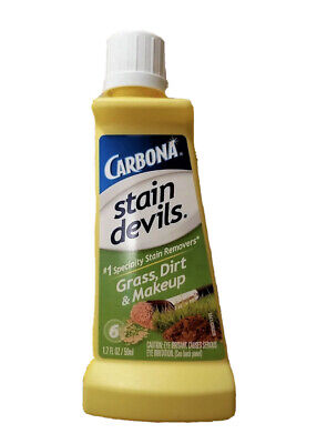 Carbona Stain Devils #6 Make-up Dirt Grass Dry Clean Fabric Spot Remover, 1.7oz • 6.22£