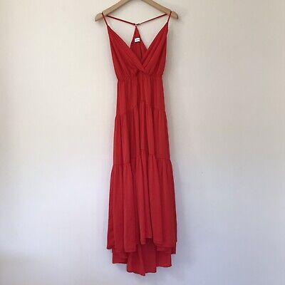AU38.50 • Buy SHEIKE Womens Dress, Size 6, Red Maxi
