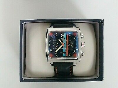 Sports Watch Motorsport Steve McQueen Le Mans 24 Retro Racing Goodwood Style New • 68£