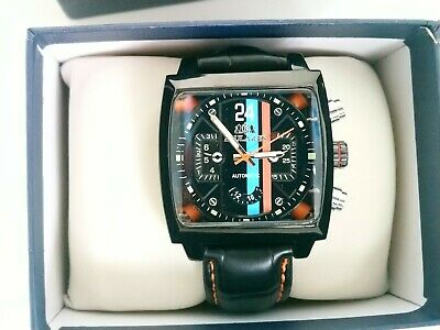 New Sports Watch Motorsport Steve McQueen Le Mans 24 Hours Retro Racing Style  • 66£