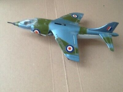Dinky Hawker Harrier Fighter Aircraft 722 • 25£