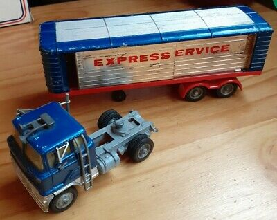 Corgi Major Ford Truck And Articulated Trailer 1137 Express Service  • 20£