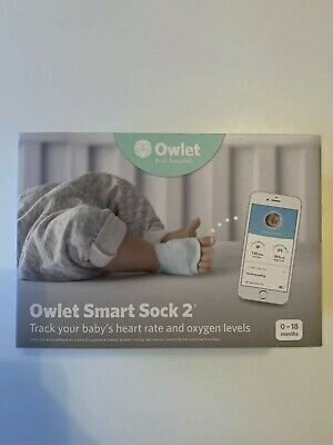 View Details Owlet Smart Sock 2 Baby Monitor • 120.00£