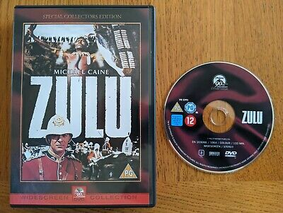 Zulu Special Edition DVD, Michael Caine • 1.99£