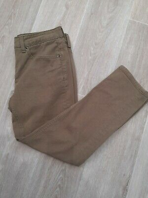 Boden Ladies Khaki Jeans Trousers Size 8 Cropped • 9.99£