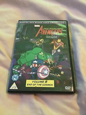 The Avengers: Earth's Mightiest Heroes - The Finale - DVD - Marvel Animation 🎬 • 0.06£