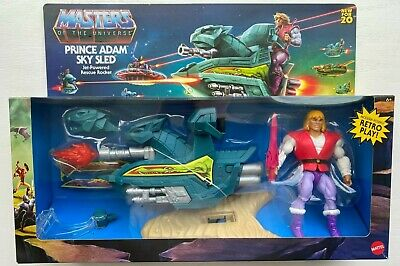 $49.95 • Buy Masters Of The Universe Origins Prince Adam Sky Sled Retro Play 2020 Walmart NIB