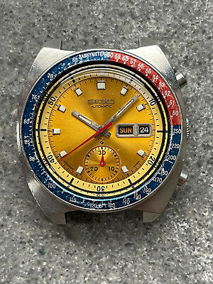 $ CDN174.86 • Buy Vintage Automatic Seiko 6139-6005 Pogue Chronograph