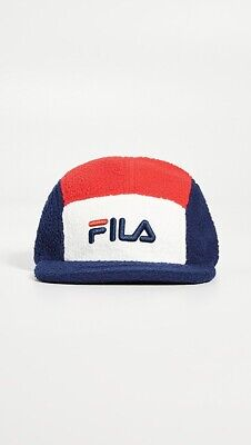 BNWT Fila Vintage 5-Panel Colorblocked Sherpa Cap (80's Casual , Mod , Indie ) • 22.99£