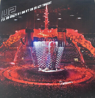 "AU14 • Buy Rare U2 7"" Vinyl Gatefold ""I'll Go Crazy If I Don't ..."" Collectors Item"
