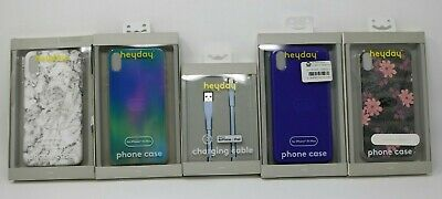 $ CDN6.35 • Buy Iphone XS MAX Bulk Lot Of 4 Different IPhone Case Covers W/ Charging Cable LOOK!
