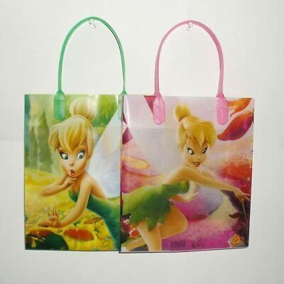 £10.64 • Buy Disney Tinkerbell Reusable Small Party Favor Goodie 12 Bags