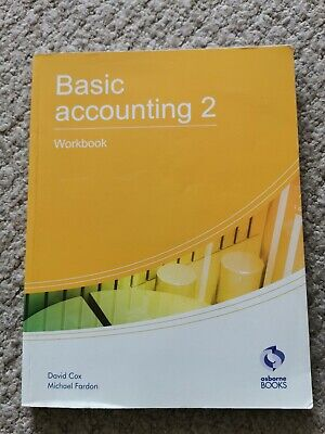 Basic Accounting 2 Workbook: 2 (AAT Accounting -... By Fardon, Michael Paperback • 1.99£