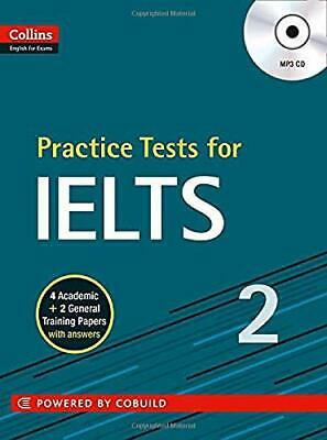 Practice Tests For IELTS 2 (Collins English For IELTS) New Paperback Book • 13.53£