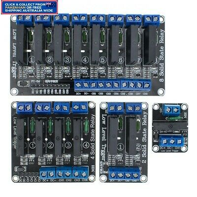 AU8.95 • Buy 1/2/4/8 Channel 5V OMRON SSR G3MB-202P Solid State Relay For Arduino -PAKENHAM