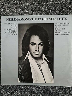 Neil Diamond - His 12 Greatest Hits 12  Vinyl LP MCA Records MCF2550. • 1.99£