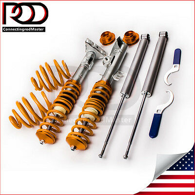 $219 • Buy Adjustable Suspension Coilover Kit Fit BMW E36 Cabrio / Coupe Coilover Shock Kit