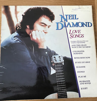 Neil Diamond - Love Songs Vinyl Lp Mcf3092 1981 • 0.99£