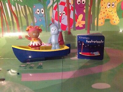 In The Night Garden Floaty Boat With Upsy Daisy & Iggle Piggle Plus Book • 11.99£